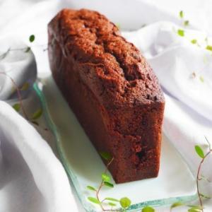 スリム型でチョコパウンドケーキ♪