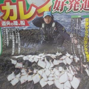 本日発売!週刊釣り新聞ほっかいどう