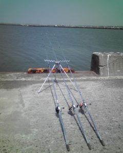 今週の釣りの取材撮影終了!