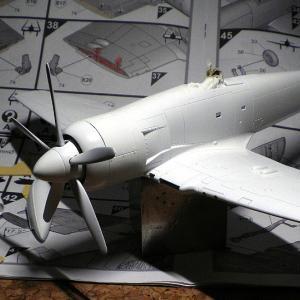 Sea Fury FB.11 Airfix 1/48 (その2)