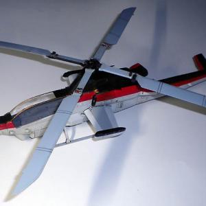 AH-1Z ヴァイパー 攻撃ヘリ 1/48 Kittyhawk (その5) 【まりんこゆみProject】