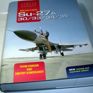Su-33の本とズヴェズダの本気?