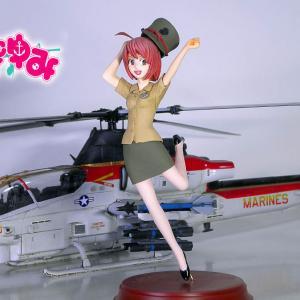 【やっと完成】AH-1Z ヴァイパー 攻撃ヘリ 1/48 Kittyhawk  【まりんこゆみProject】