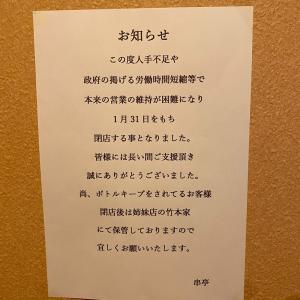 新年会 総務 まさかの閉店