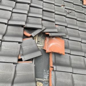 見えない箇所ですが、屋根は絶対に必要なメンテナンスです。