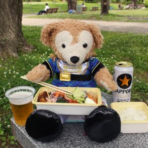 公園で食べるお昼は