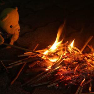 盆の送り火