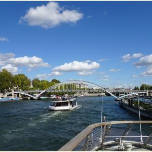 2019秋のヨーロッパ旅☆☆11日目世界遺産の風景を巡るセーヌ川クルーズ♪