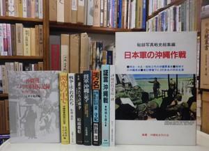 日本軍の沖縄作戦・沖縄戦アメリカ軍戦時記録・閃光の中で・汚名・遊女たちの戦争・沖縄戦 米兵は何を見たか・など