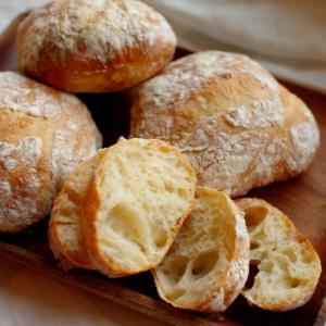 ヘラごねパン(リュスティックのようなもの)