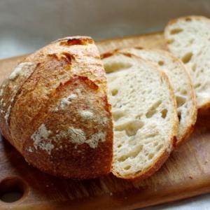 ゆめかおり全粒粉10%+ライ麦10%でカンパーニュ