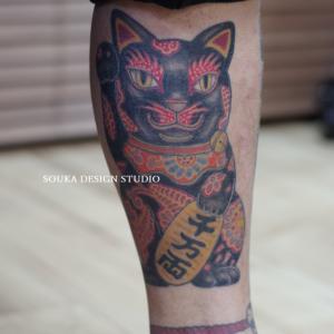 招き猫 刺青