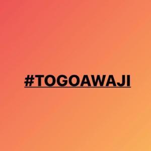 #TOGOAWAJIを応援します!を一旦終了しますm(__)m