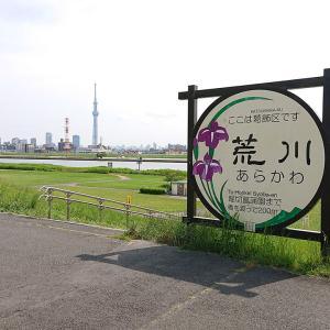 荒川土手をツーリング2-王子駅~東小松川公園