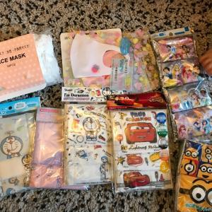 日本からの贈り物。