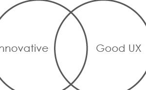 イノベーティブなモノと良いUXを与えるモノって違うのかってお話