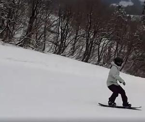 スノーボードも上達します!