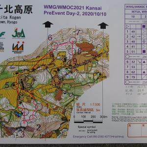 WM2021関西オリエンテーリング競技プレ大会-day2(ミドル競技1)