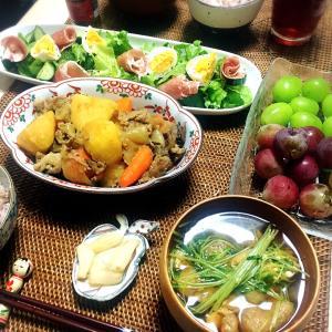 ■今日の晩ごはん■肉じゃが♪