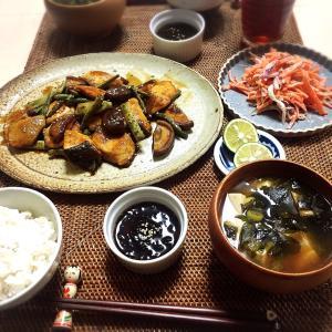 ■今日の晩ごはん■秋鮭の甘酢炒め♪