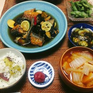 ■今日の晩ごはん■秋刀魚でめちゃウマの南蛮漬け♪