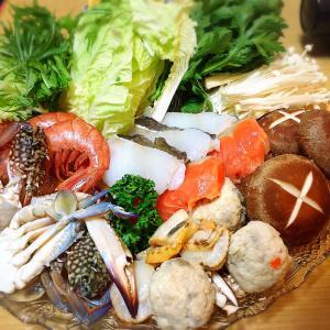 ■今日の晩ごはん■海鮮寄せ鍋♪