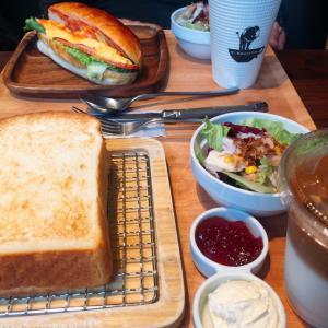 ■今日の朝食■カフェでモーニング♪