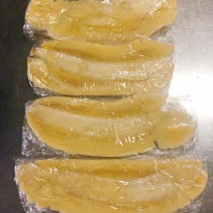 ■今日の晩ごはん■鶏肉のオイマヨ炒めと冷凍バナナの作り方♪