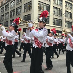 ベテランズデイパレードとトランプ大統領の演説♪ニューヨークマディソンスクエア