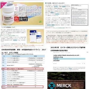 日本皮膚科学会がDランクに指定後もミノタブの推奨を続ける日本の育毛病院の実態