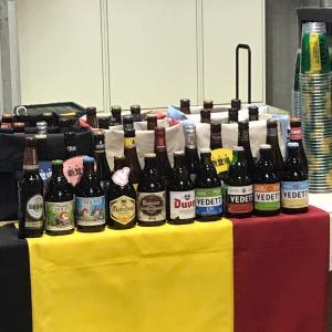 夫婦で楽しむベルギービール