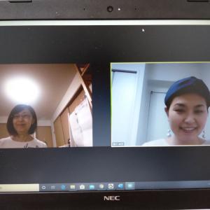 北海道の方とアートセラピスト養成講座でカラーセラピーの知識を深める