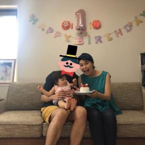 娘、1歳になりました!!
