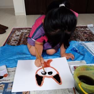伸びやかな表現が出たお姉ちゃんのアートセラピー