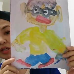 子どもの絵「色使いについて」インスタライブで配信しました!