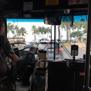 ザ・バスの運転手のALOHAな対応