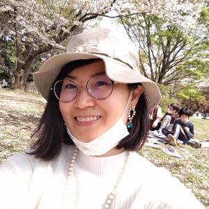 桜吹雪を楽しむお花見弁当♡@練馬区光が丘公園