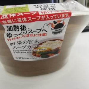 焼け石に水。『野菜の旨味スープカレー』