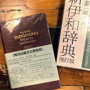 久しぶりの伊和辞典