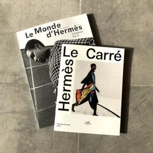 HERMESのフリー雑誌