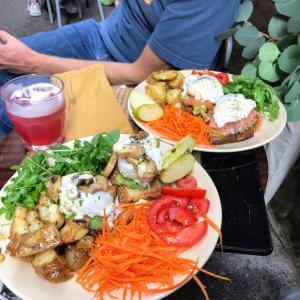 パレルモ旧市街地でブランチと、パレルモ1美味しいカッフェ