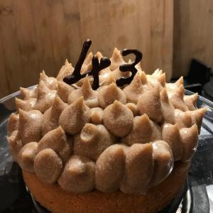 恒例の手作りBDケーキ