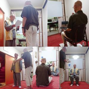 ☆今日はグラウンディング講座でした【LEVEL 2受講修了】現役僧侶Kさん