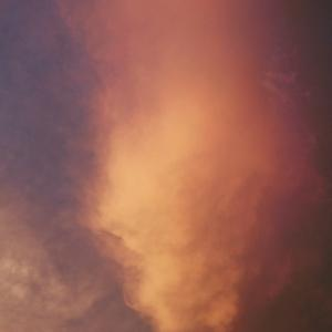 今日の龍神雲と花火と夕焼け