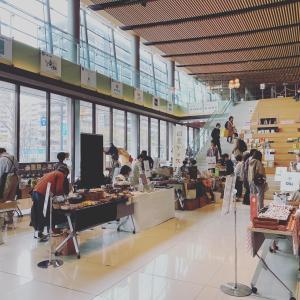 イベントレポート☆沼垂テラス商店街「出張昼市@メディアシップ」
