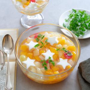 【レシピ】さっぱり美味しい★フルーツ杏仁豆腐の作り方♪
