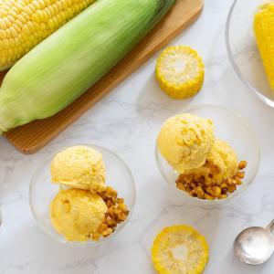 【レシピ】旬のとうもろこしで!アイスクリーム