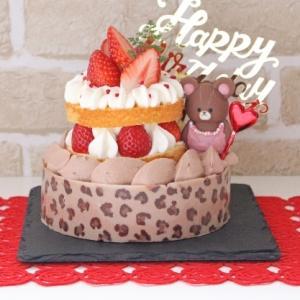 なっちゃん14歳のバースデーケーキ♪