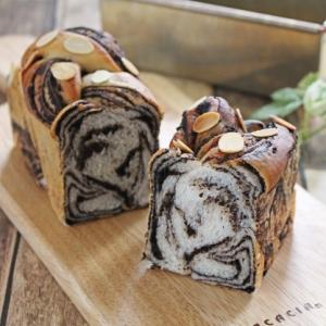 黄金食パン型でショコラブレッド