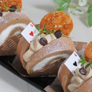 モカロールケーキサンド